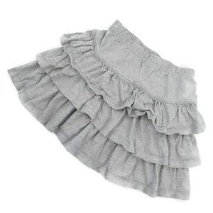 Hanna Andersson Size 120 Ruffled Skirt 100% Cotton